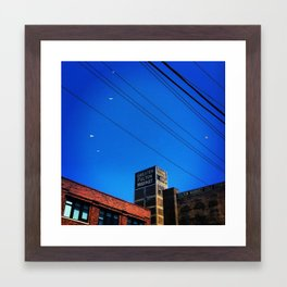 Fulton Market Chicago Framed Art Print