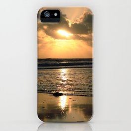 Bracelet Bay Sunset UK iPhone Case