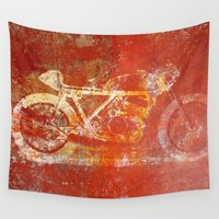 metal Wall Tapestries featuring Metal Speed by Fernando Vieira