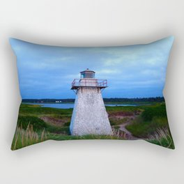 Lighthouse in the Dunes Rectangular Pillow