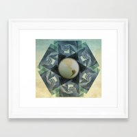 milk Framed Art Prints featuring milk by Vin Zzep