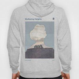 Emily Brontë Wuthering Heights - Minimalist literary design Hoody