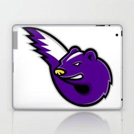 Striped Skunk Mascot Laptop & iPad Skin