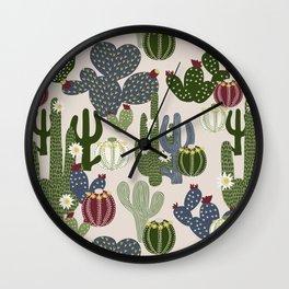 Desert Vibrance Wall Clock