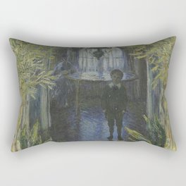 A Corner of the Apartment - Claude Monet Rectangular Pillow