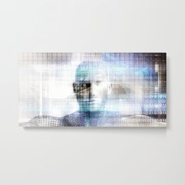 Digital Health Medical Technologies as a Solution Metal Print