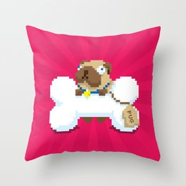 A Bone to Pick with You Throw Pillow