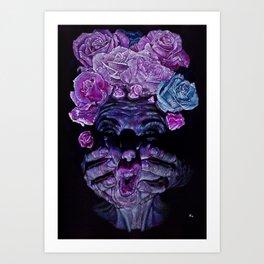Rose acne Art Print