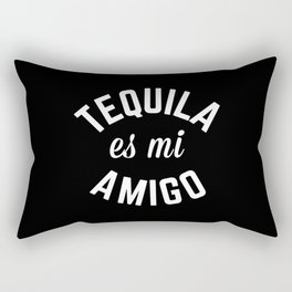 Tequila Es Mi Amigo Funny Quote Rectangular Pillow