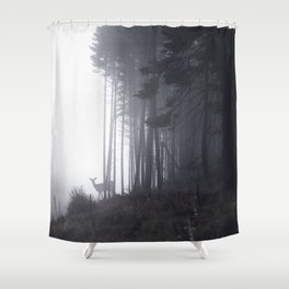 tell me about the forest II Shower Curtain