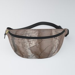 Who's Kissing Who - Kiss Me - Vintage - Modern Art Abstract - Picasso Style Fanny Pack