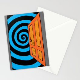 its scary out there Stationery Cards