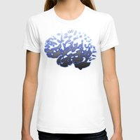 brain T-shirts featuring Brain by Temi Alli
