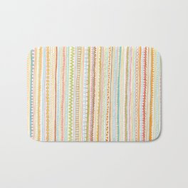 Pencil Doodles Bath Mat