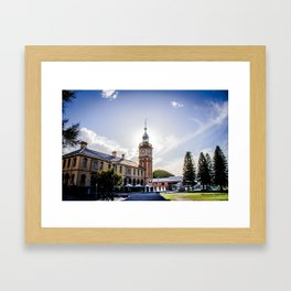 Newcastle, NSW, Australia Customs House Framed Art Print