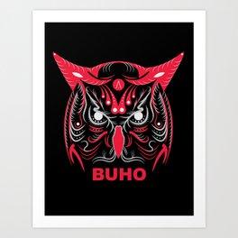 BUHO: ANATOMY BRAND Art Print