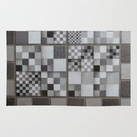 chess Area & Throw Rugs featuring Chess  by Geometric Arte Studio
