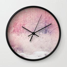 Careless Affection Wall Clock