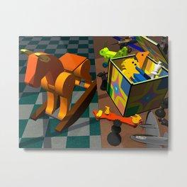Toy Box Metal Print