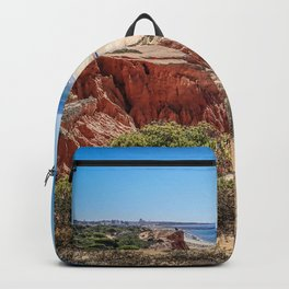 Portugal, Algarve, Beach Falesia Backpack