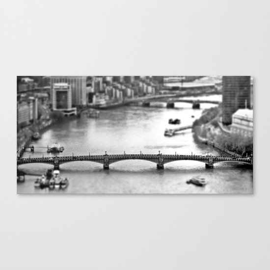 Southwark Bridge Canvas Print