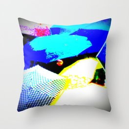 Venetian Rain Throw Pillow