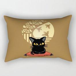 Circular window Rectangular Pillow