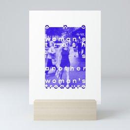 SATC - Woman's trash Mini Art Print