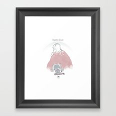 Krampus Night Framed Art Print