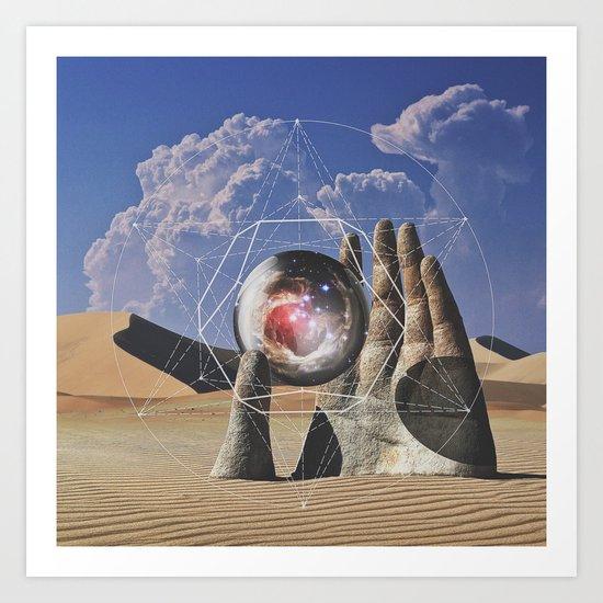Holy Hand Art Print
