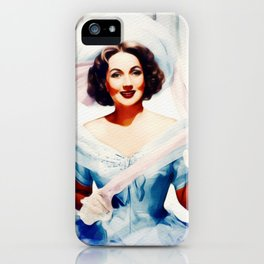 Ann Sothern, Vintage Actress iPhone Case