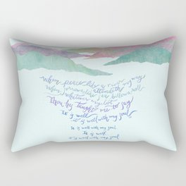 It Is Well With My Soul-Hymn Rectangular Pillow