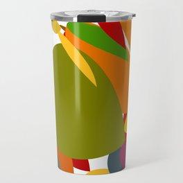 Colorful pebbles Travel Mug