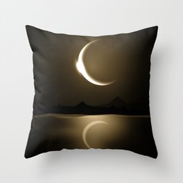Divine Reflections Throw Pillow