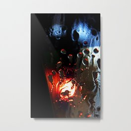 The carwash Metal Print