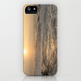 sunset hookipa beach maui hawaii iPhone Case