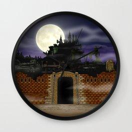 Vampire Castle Wall Clock
