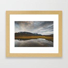 Alesjaure - Arctic Sweden Framed Art Print