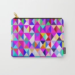 Fun with Geometrics.... Carry-All Pouch
