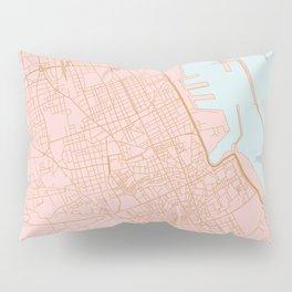 Palermo map Pillow Sham