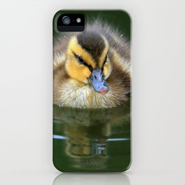 Floating Fluff iPhone Case