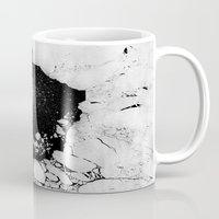 cracked Mugs featuring Cracked by Andrea Orlic