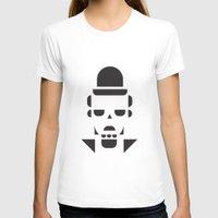 chaplin T-shirts featuring Chaplin  by MeeNeeMo