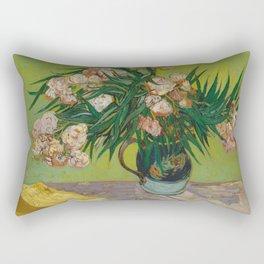 Vincent van Gogh - Oleanders Rectangular Pillow