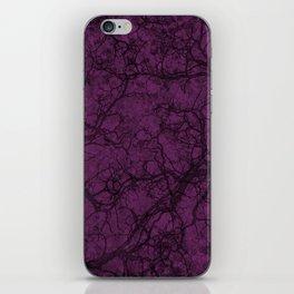 Byzantium Purple Hunting Camo Pattern iPhone Skin