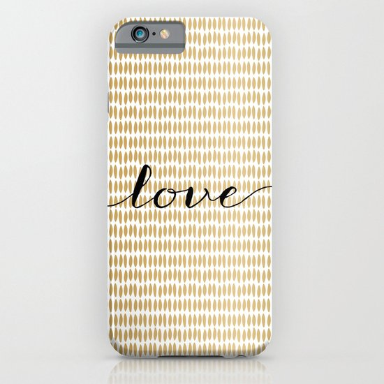 Love Gold iPhone & iPod Case