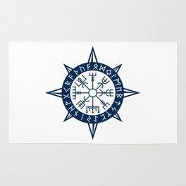 Vegvisir Viking Compass Rug