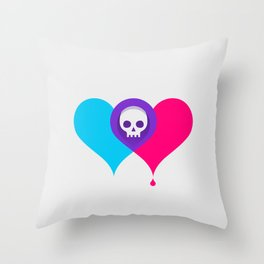 A Death-Marked Love Throw Pillow