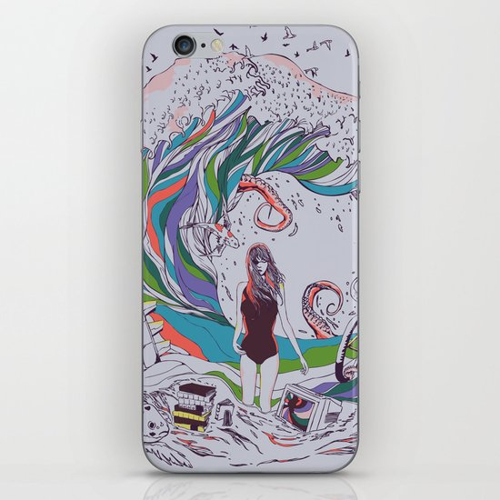 Ocean Myths iPhone & iPod Skin