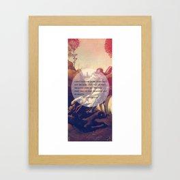 the dragons Framed Art Print